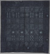 Nik Okundaye-Davies, Adire quilt, 1987. Whitworth Art Gallery, The University of Manchester