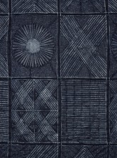 Niké Okundaye-Davies, Adire quilt, 1987. Whitworth Art Gallery, The University of Manchester