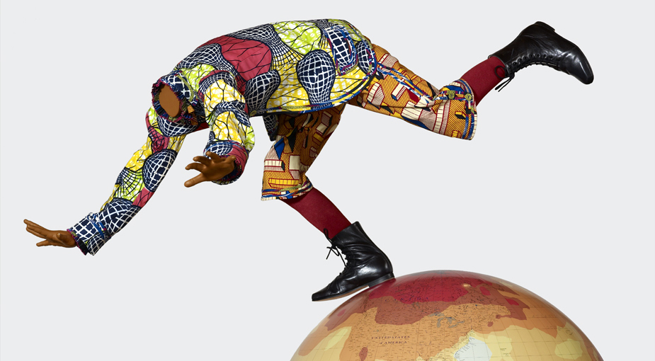 Boy on Globe 4 (detail)