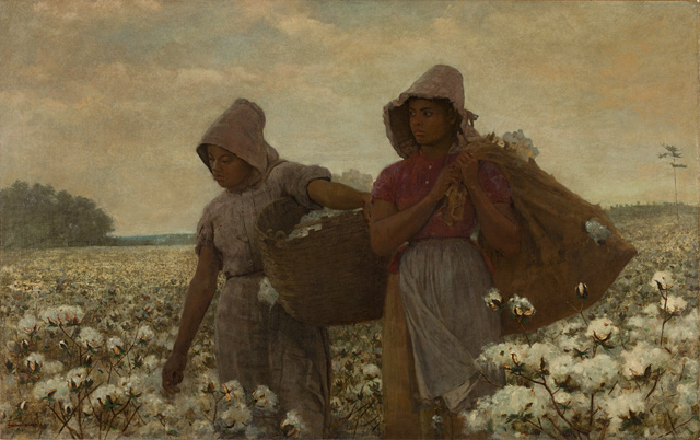Winslow Homer, &#039;Cotton Pickers&#039; (Detail)